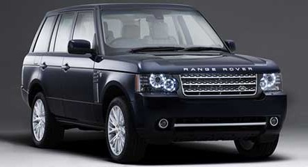 Range Rover Armoured Vehicle