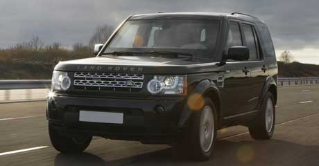 Armoured Landrover Discovery 4