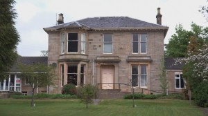 Sam Van Gelder's Scottish mansion