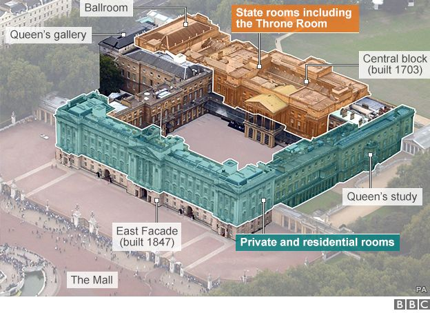 Buckingham Palace Maintenance May See Queen Move Out
