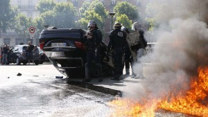 French Riot Police