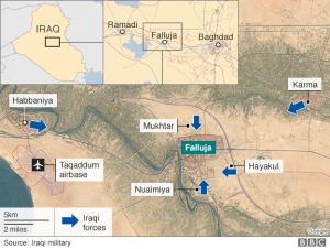 Falluja Iraqi Army Advances