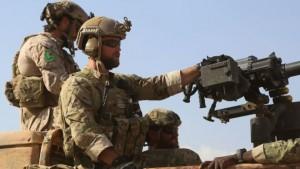 US Combat Soldiers