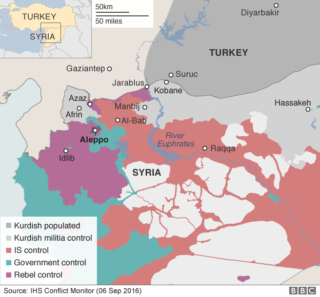 Turkey And US Ready To Drive IS From Raqqa ArmouredCarscouk - Where is syria and turkey