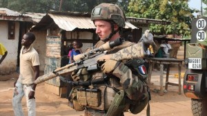 Sangaris Soldier