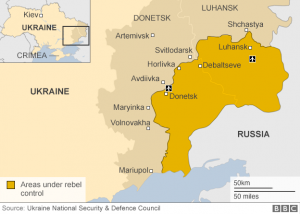 Ukraine Rebel Held Areas