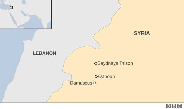 a new report by the human rights group alleges that mass hangings took place every week at saydnaya prison between september 2011 and december 2015