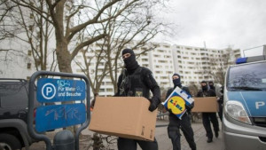 German Police Raids