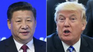 President Trump & President Xi Jinping