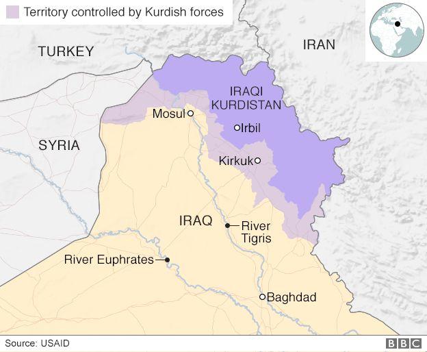 Iraq And Kurdish Forces Clash Over Kirkuk Province ArmouredCars