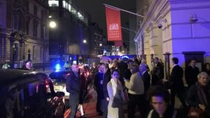 Royal Opera House Evacuation