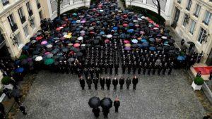 Paris Policeman Funeral