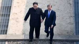 Korea Leaders Meet