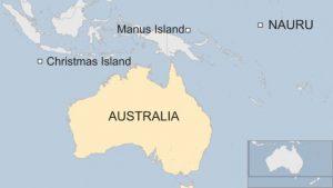 Christmasisland Nauru Manus
