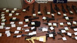 Italy Guns Police
