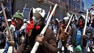 Bolivia Violence