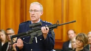 New Zealand Destroying Guns
