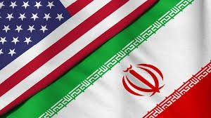 USA/Iran Flag