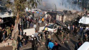 Bomb Attack In Syria